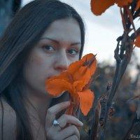 На закате :: Анастасия Жигалёва