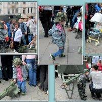 На выставке военной техники  в честь Дня Победы в Ростове-на-Дону... :: Нина Бутко