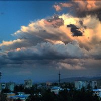 Живописные облака :: Крестинка Zakharova