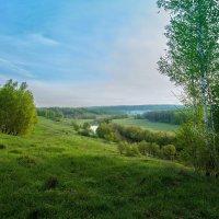 И за рекой прокладывая путь... :: Юрий Морозов