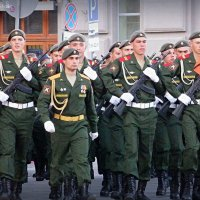 Репетиция Парада Победы - 2015 (Новосибирск) :: Lady Etoile