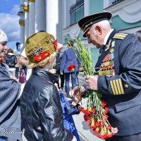 СПАСИБО ДЕДА, ЗА ВАШУ ПОБЕДУ!  9 мая 2015г. С-Петербург :: Виталий Половинко