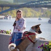 Дама с собачкой :: Юрий Кольцов