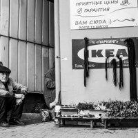 Уличный торговец :: Денис Лисейчиков