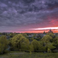 Закат в Хотьково. :: dbayrak Дмитрий Байрак