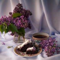 Сиреневый брауни. :: Снежанна Родионова