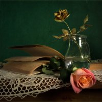 С розой и розой :: Lev Serdiukov