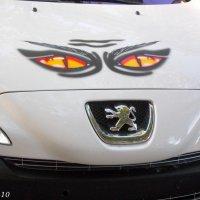 Глазастая машина... :: Нина Бутко