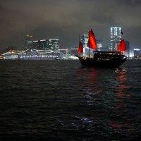 Алые паруса Гонконга :: Наталья Тимофеева