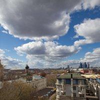 Небо над Москвой :: Юрий Кольцов