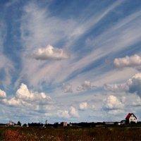 Ветер гонит облака :: Сергей Тарабара