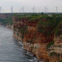 Ветрогенераторы в районе Калиакры, Болгария. :: Алексей Казаков