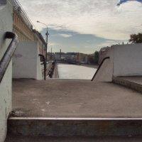 Москва мост через водоотводный канал фрагмент :: Денис Масленников