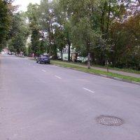 Улица  Короля  Даниила  в  Ивано - Франковске :: Андрей  Васильевич Коляскин