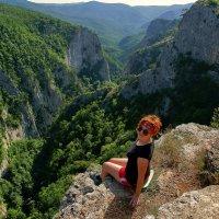 над каньоном :: Vladimir T