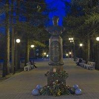Памятник дважды герою Советского Союза Е.М. Кунгурцеву :: Владимир Максимов