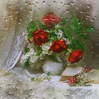 Хрустальный дождь волшебник мая... :: Валентина Колова