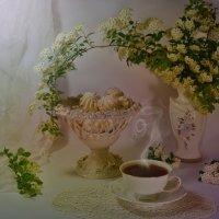 Печенье и чай :: Наталия Лыкова