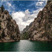 """Врата""...Зеленый каньон(Green Canyon)... Нефритовое царство Турции. :: Александр Вивчарик"