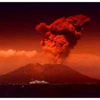 Вулкан Сакураджима 17мая 2015 :: Slava Hamamoto