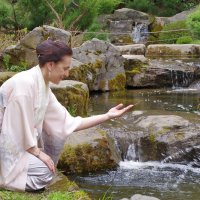 В Японском саду. :: Ирина Нафаня