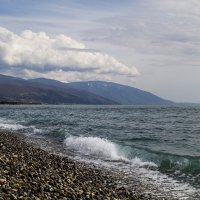 мартовское море :: Ольга Афанасьева