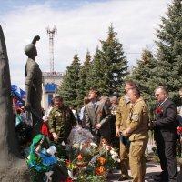 Открытие памятника Афганцам :: Олег Горобец