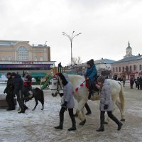 Мальчик на лошади :: Canon PowerShot SX510 HS