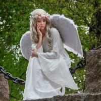 Питерские ангелы. Грустный ангел :: Валентин Яруллин