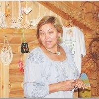 Наталья - мастер народного промысла :: Валерий Лазарев
