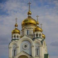 Храм на пл. Славы. г. Хабаровск :: Roman Suzdaltsev