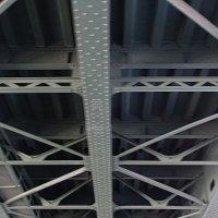 СПБ, под мостом :: Михаил Сергеевич Карузин