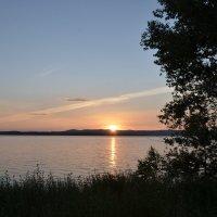 Закат в июле :: Cергей Ерохин