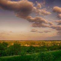 закат над Новомосковском (1) :: Ксения Довгопол