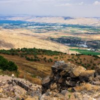 Вид на Иорданскую долину и Кинерет :: Aaron Gershon
