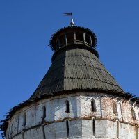 Большая башня Борисоглебского монастыря. Ростов Великий :: Николай Варламов