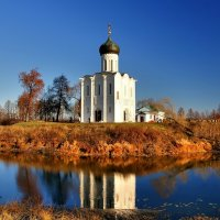 Храм Покрова на Нерли (1165 г.), Боголюбово, Владимирская область :: Денис Кораблёв