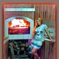 Современная хранительница очага.... :: Людмила Богданова (Скачко)