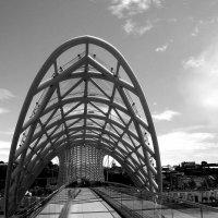 продвинутый Тбилиси. Мост Мира :: Елена Познокос