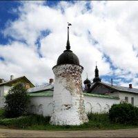 Башня Горицкого монастыря. Вологодская область. :: Елена Швецова