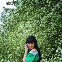 в яблонях :: Евгения Чернова