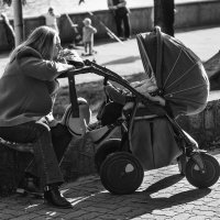 мама и младенец :: Иван Клипацкий