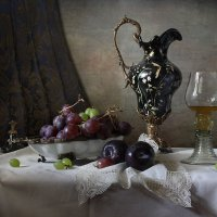 Традиционный натюрморт в холодной гамме :: Карачкова Татьяна
