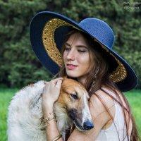Дама с собачкой :: Виктория