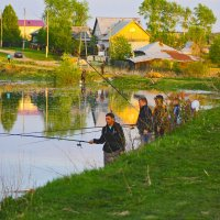 рыба подошла :: petyxov петухов