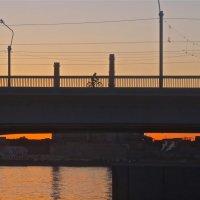 на мосту и под мостом :: Елена
