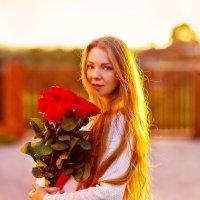 Вечерние розы :: Марина Юдина