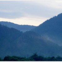 Туманное утро в горах :: Любовь Иванова
