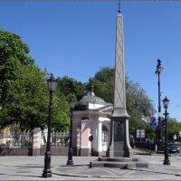Памятник в честь ордена Андрея Первозванного :: Вера