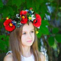 Девочка и маки :: Наталья Филипсен